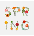 Spring - Floral Graphic Design - for t-shirt vector image