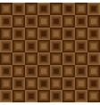 Squares seamless floor pattern brown colors vector image vector image