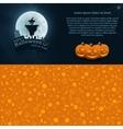 Happy Halloween Postcard vector image