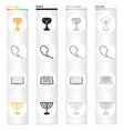 knowledge church religion and other web icon in vector image vector image
