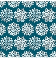 Seamless christmas pattern Origami paper white vector image