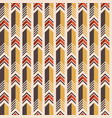 seamless colorful pattern of arrows vector image vector image