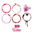 wine label circles icon vector image vector image