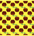 apple red yellow seamless pattern background vector image vector image
