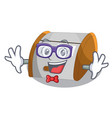 geek character modern plastic bread bin box vector image