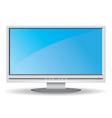 gray lcd monitor vector image vector image