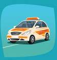 isolated instructional vehicle vector image vector image