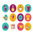 kitchen ware icons Food icons kitchen Utensil ico vector image vector image