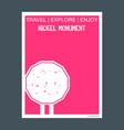 nickel monument sudbury ontario monument landmark vector image vector image
