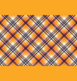 orange white pixel seamless fabric texture vector image
