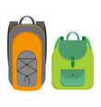 sport style backpack vector image