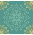 Yoga Ornament kaleidoscopic seamless Indian Art vector image vector image