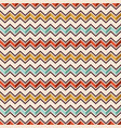 zigzag color lines seamless pattern vector image vector image
