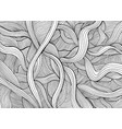abstract funny doodle style with many intricate vector image vector image
