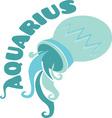 Aquarius Zodiac vector image vector image