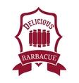 delicious barbecue design vector image vector image