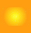 orange digital background vector image vector image