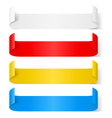 Paper sticker vector image