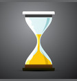 Sand clock icon hourglass symbol