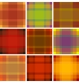 Seamless British pattern background collection vector image