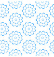 seamless ornamental pattern abstract background vector image
