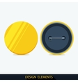 Set of badges in flat style vector image vector image