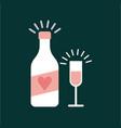 wedding invitation icon desig vector image vector image