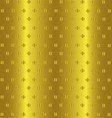 Abstract Golden Background Pattern vector image vector image