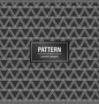 minimal geometric pattern background black vector image