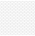 Repeating geometric tiles with triangles seamless vector image vector image