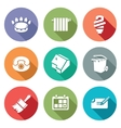Utilities Icons Set vector image vector image