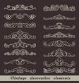 vintage decorative element vector image vector image