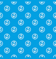 asian sauce pattern seamless blue vector image vector image