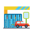 car service vehicle maintenance and repair vector image vector image