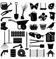 garden pictogram vector image vector image