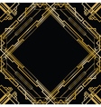 gatsby square vector image vector image