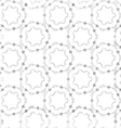 Seamless elegant silver pattern vector image vector image