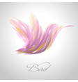 Shiny lavender flying hummingbird vector | Price: 1 Credit (USD $1)