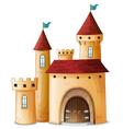 A beautiful palace vector image vector image
