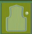 cupboard green vector image vector image