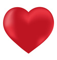 Heart isolated object vector image