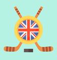 Hockey in United Kingdom vector image vector image