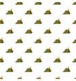 oktoberfest tirol hat pattern vector image vector image