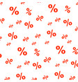 percent seamless business pattern promotion vector image