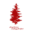 red pine vector image vector image