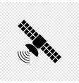 space satellite antenna vector image vector image