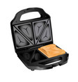 sandwich toaster outdoor vector image