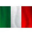 Italy flag polygonal vector image