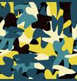 abstract shapes seamless hand drawn pattern vector image vector image