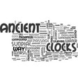 ancient china text word cloud concept vector image